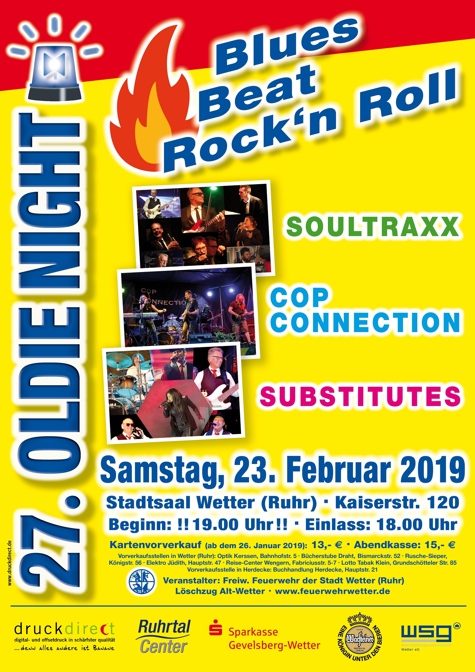 Plakat Oldie Night 2019